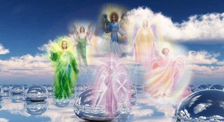 общение с ангелами и наставниками